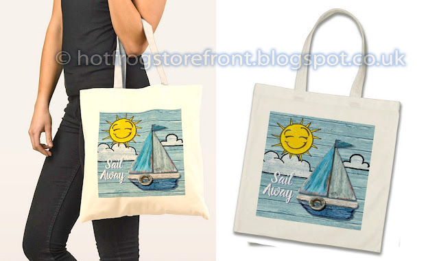 Photograph of 2 Tote bags Driftwood Beach design