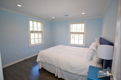 If You Want To Add Character Your Dining Room While Keeping It Formal C Painted Walls Are The Way Go Sky Blue