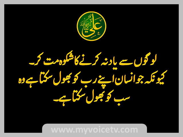 Hazat Ali Alaihi Salam ke behtarin qaul