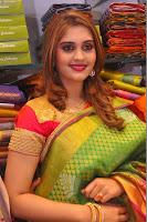 Surabhi looks stunning in Saree at Nakshatra Fashion Store Launch at Suchitra X Road 11.JPG