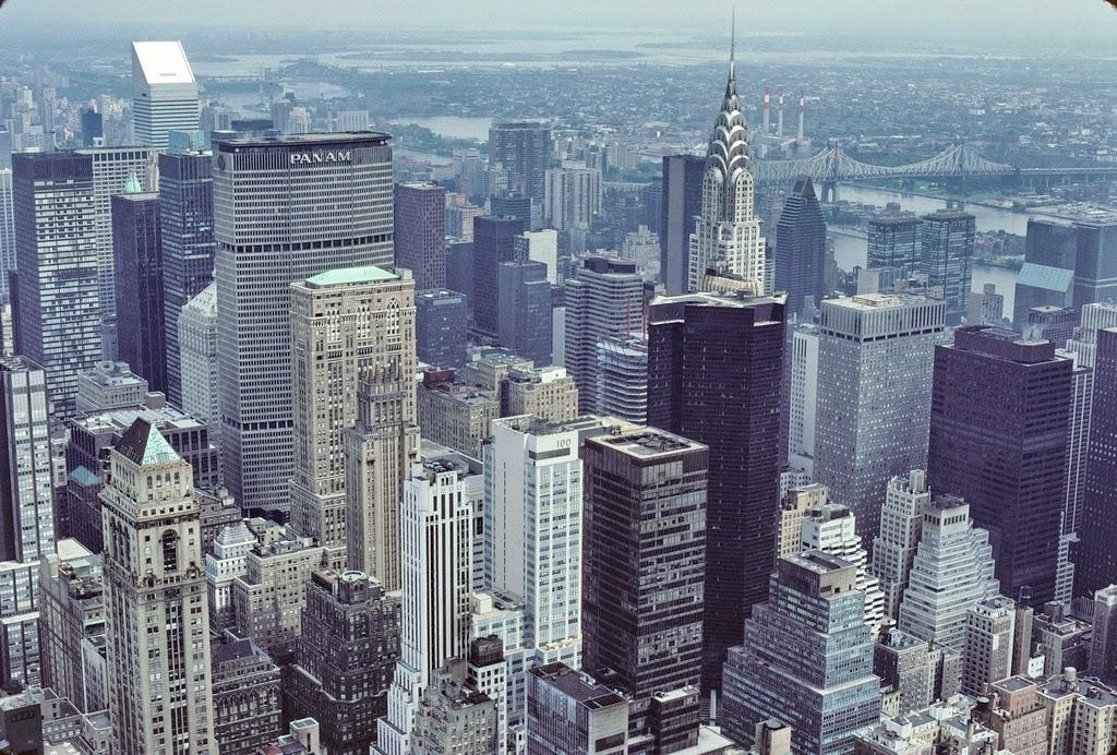 street scenes of new york city in 1986  vintage everyday