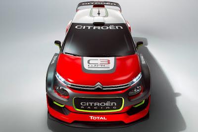 Citroën C3 WRC 2017 Concept Front