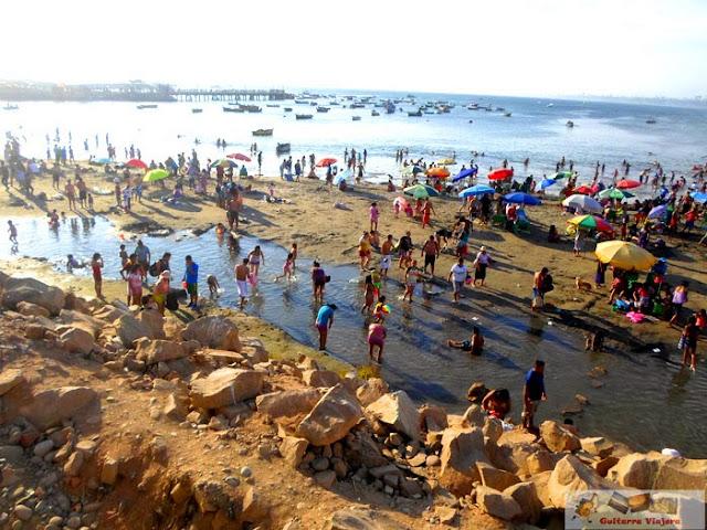 Playa Agua Dulce Chorrillos Lima