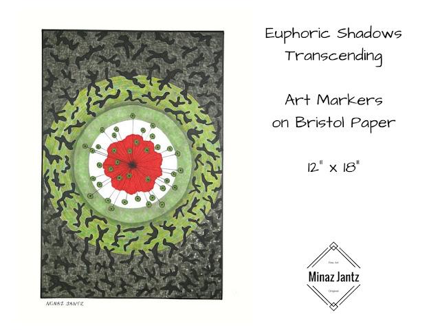 Euphoric Shadows Transcending by Minaz Jantz