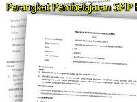 Perangkat Pembelajaran SMP Kurikulum 2013 Terbaru Tahun 2017/2018 Lengkap