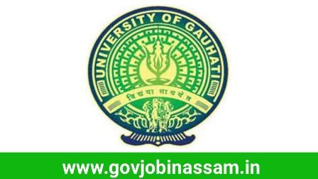 Gauhati University Recruitment 2018