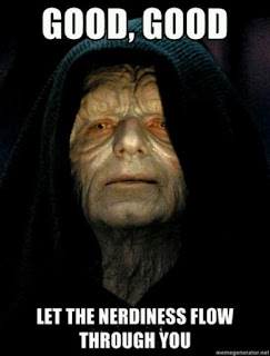 Darth Sidious Star Wars Nerd Meme