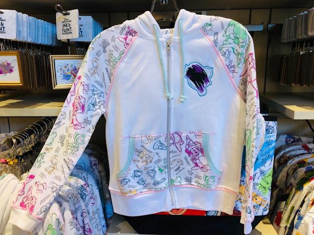 Ink & Paint Sleeping Beauty Castle sweatshirt