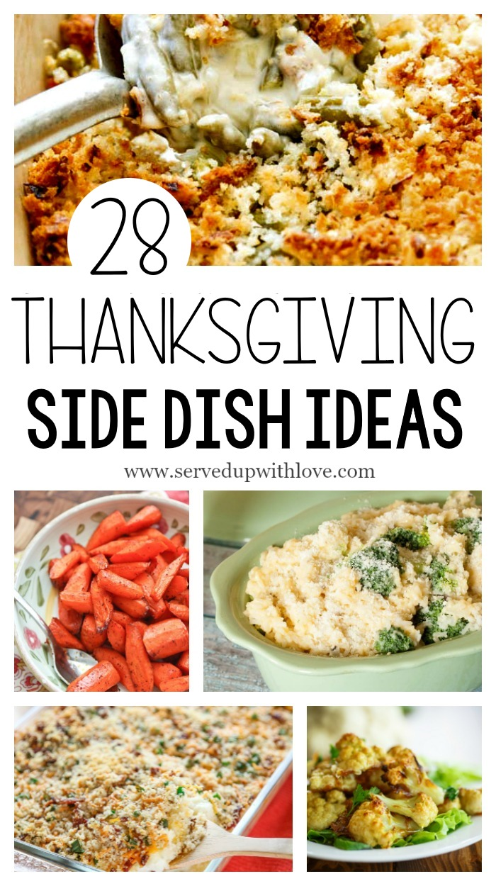 28 Thanksgiving Side Dish Ideas