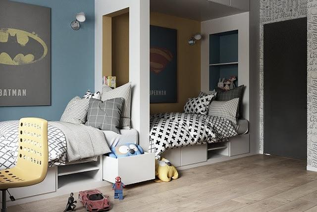 غرفة نوم أطفال