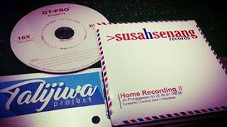 penggarapan mini album di home recording susah senang solo