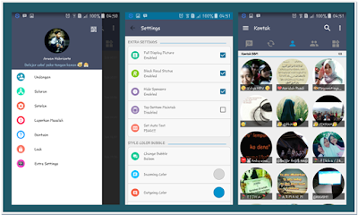 BBM MOD Line Themes v2.0 New Base 3.0.1.25 Full Features