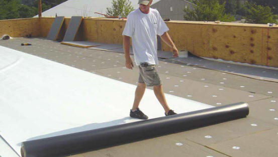 TPO roofing, commercial roofing systems