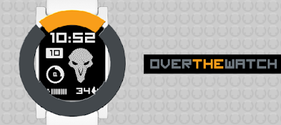 Overthewatch - watchface Pebble 2 - Overwatch inspired