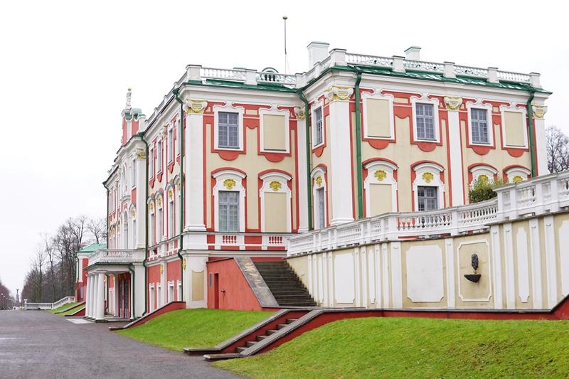 Tallinna Kadriorgin palatsi ulkoa