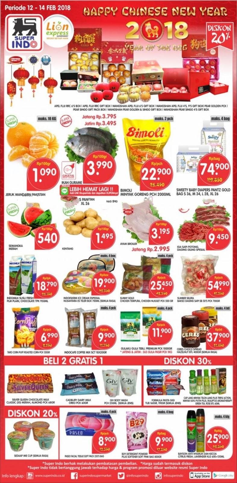Katalog Superindo Promo Superindo Weekday Periode 12 14 Februari