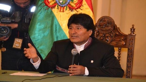 Libertad de expresión no es libertad para mentir, dice Evo Morales