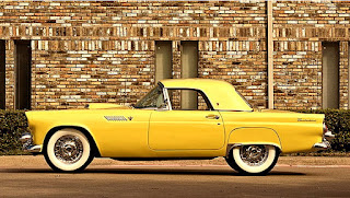 1955 Ford Thunderbird Convertible Side Left