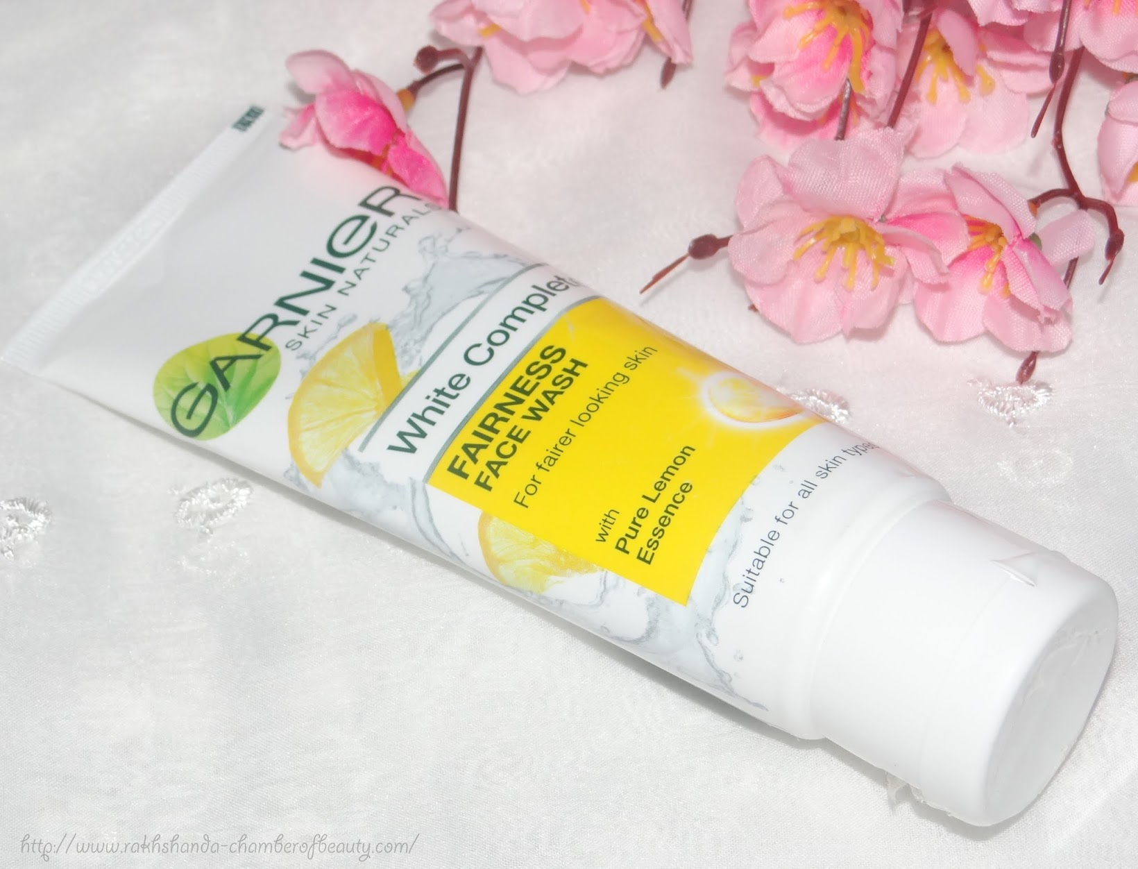 #7DayGarnierChallenge- Garnier White Complete Fairness Face Wash and Cream (review, photos, price), fairness cream, Indian beauty blogger, Chamber of Beauty