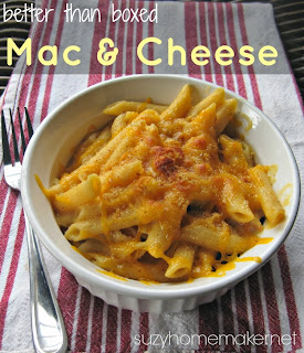 better than boxed mac and cheese - suzyhomemaker.net