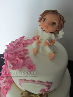 bolo batizado anjo bragança