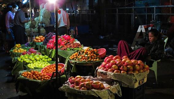 Night Market in Chinatown at Mahabandoola
