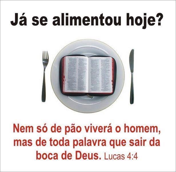 Fraqueza espiritual | Alimentar o Espírito | Lucas 4:4