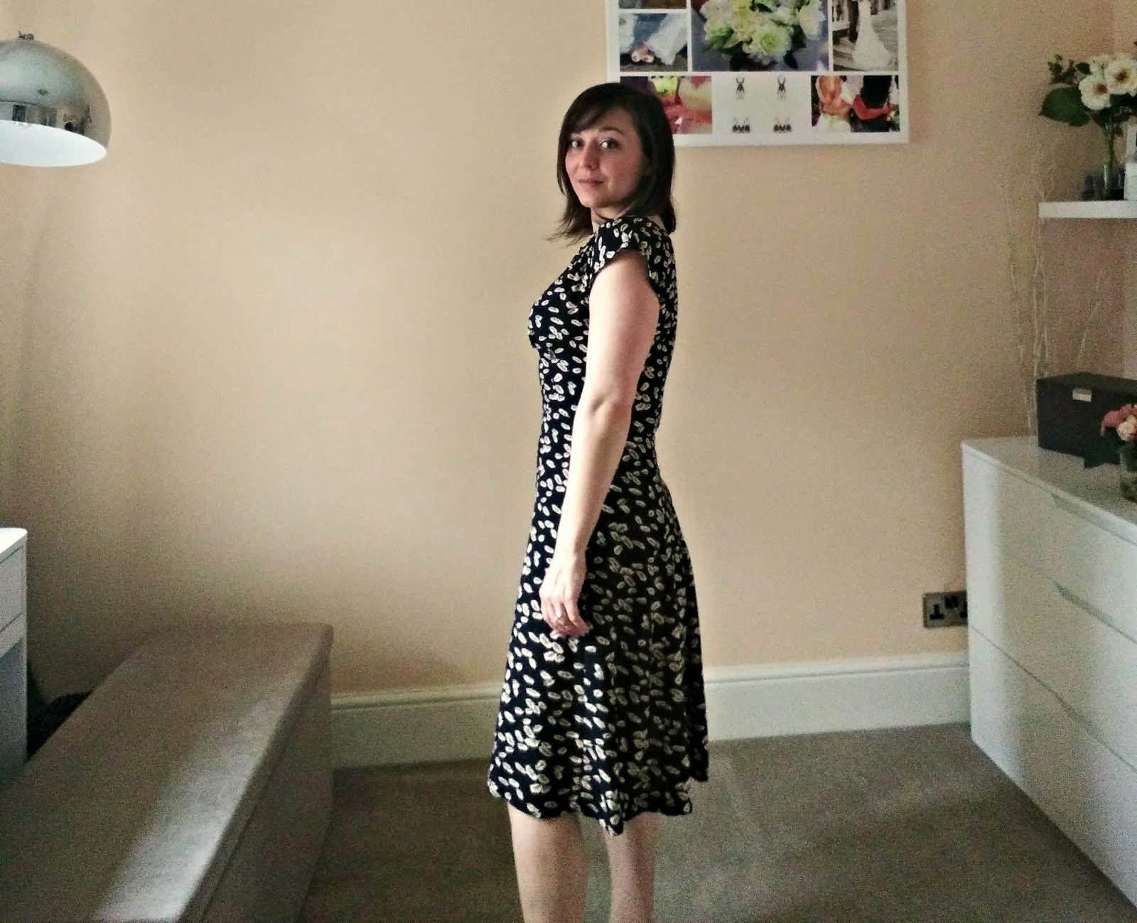 Anna Dress from By Hand London review; side view