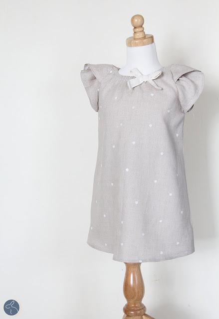 Tulip Sleeve Peasant Dress DIY.