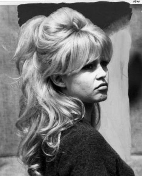 37 Beautiful Half Up Half Down Hairstyles Half Up Pony 4: Cinema Style File--Brigitte Bardot's Hair Inspiration