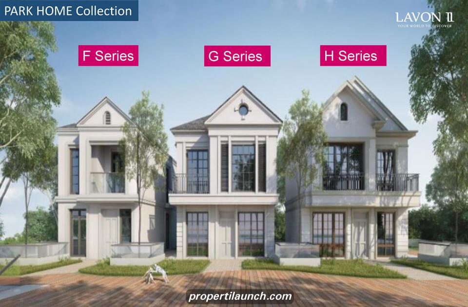 Rumah Park Home Lavon Series