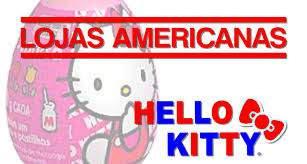 Ovos Páscoa 2018 Hello Kitty Lojas Americanas D'elicce Lançamentos