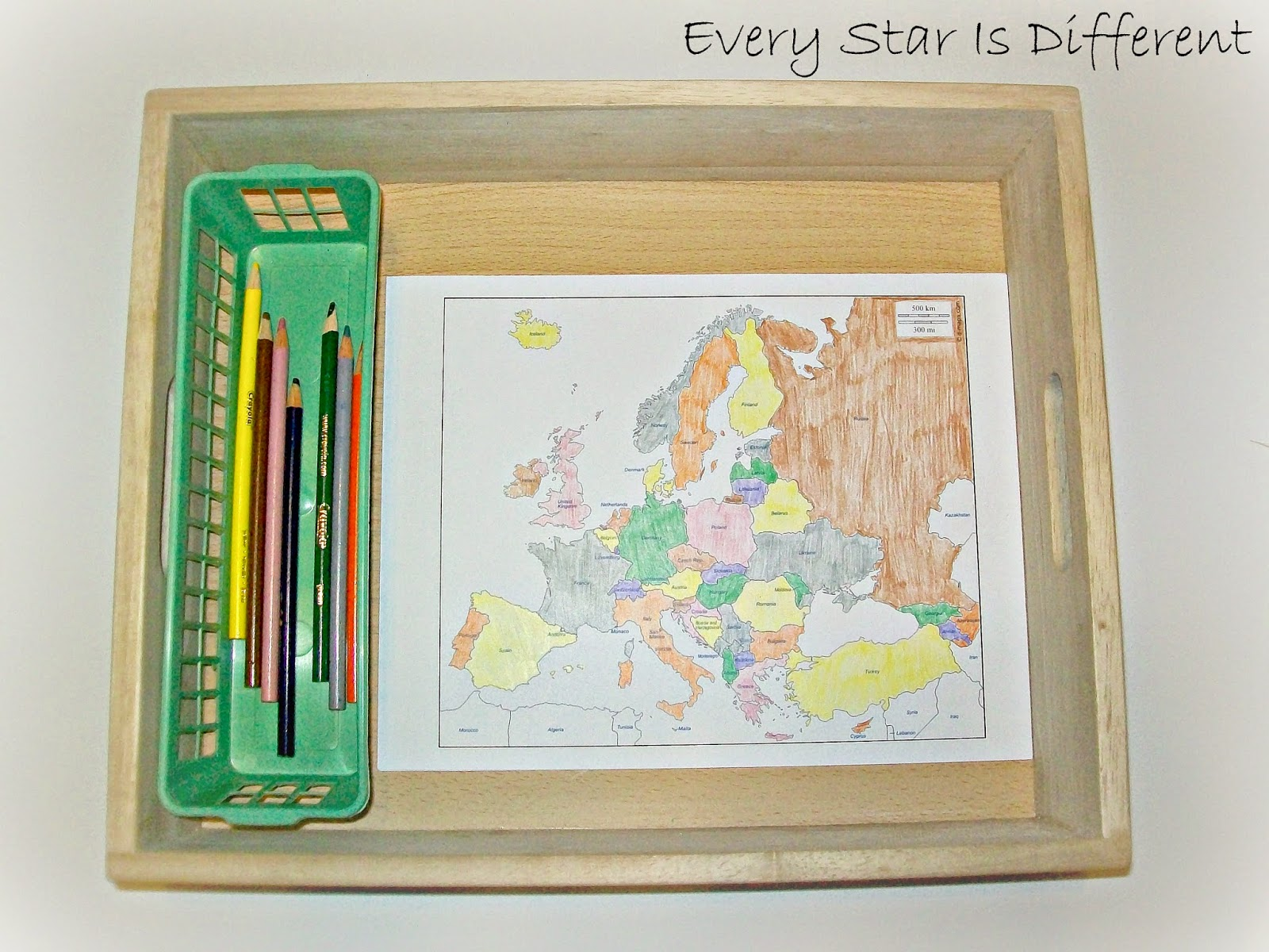 Montessori Inspired Study Of Europe W Free Printables