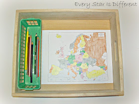 Coloring Map of Europe