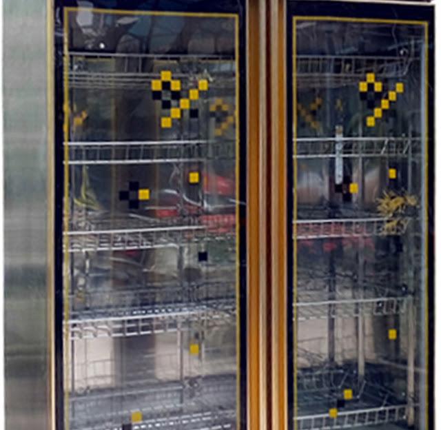 Tủ sấy bát công nghiệp 2 cánh kính BEP36 tại Sài Gòn