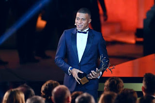 Kylian Mbappe  Ballon d'Or