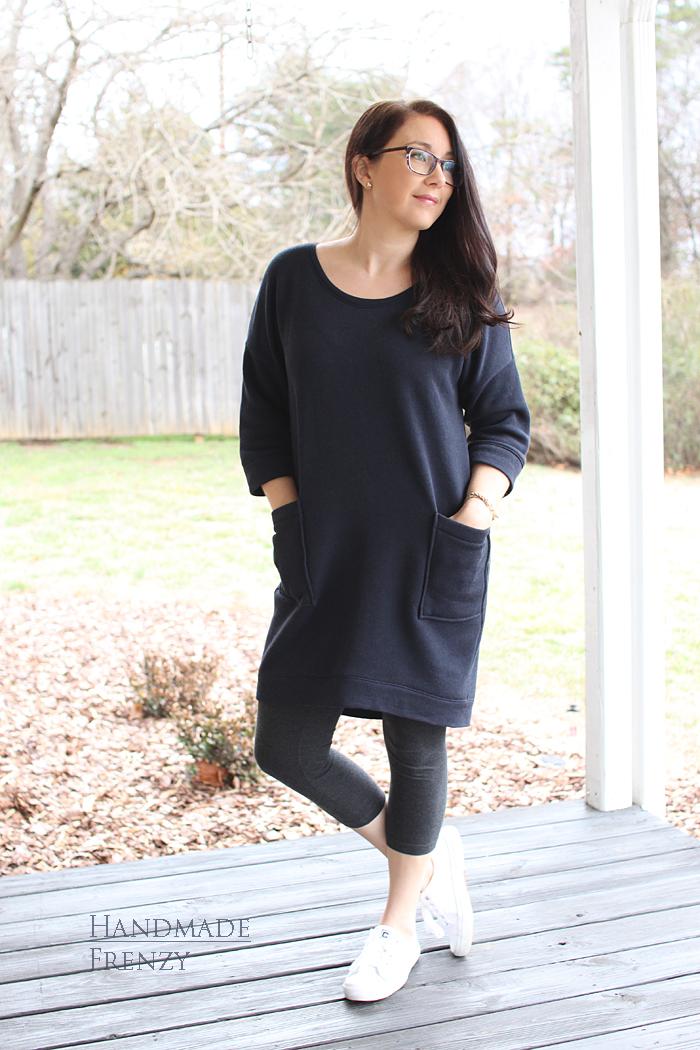 Lou Box Dress 1 // Sewing For Women