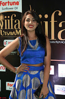 Madhu Shalini Looks Super Cute Slim trim Blue Choli Ghagra IIFA Utsavam Awards 036.JPG
