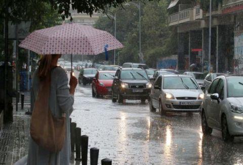 Έκτακτο δελτίο επιδείνωσης καιρού: Καταιγίδες και ισχυροί άνεμοι σ' όλη την χώρα!