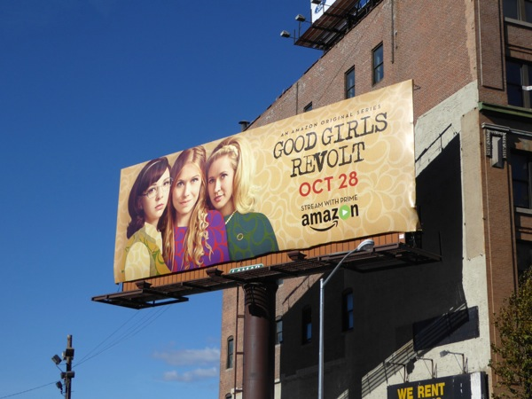 Good Girls Revolt season 1 billboard NYC