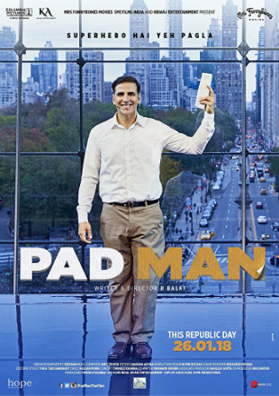 Padman 2018 Full Hindi Movie Download HD 720p