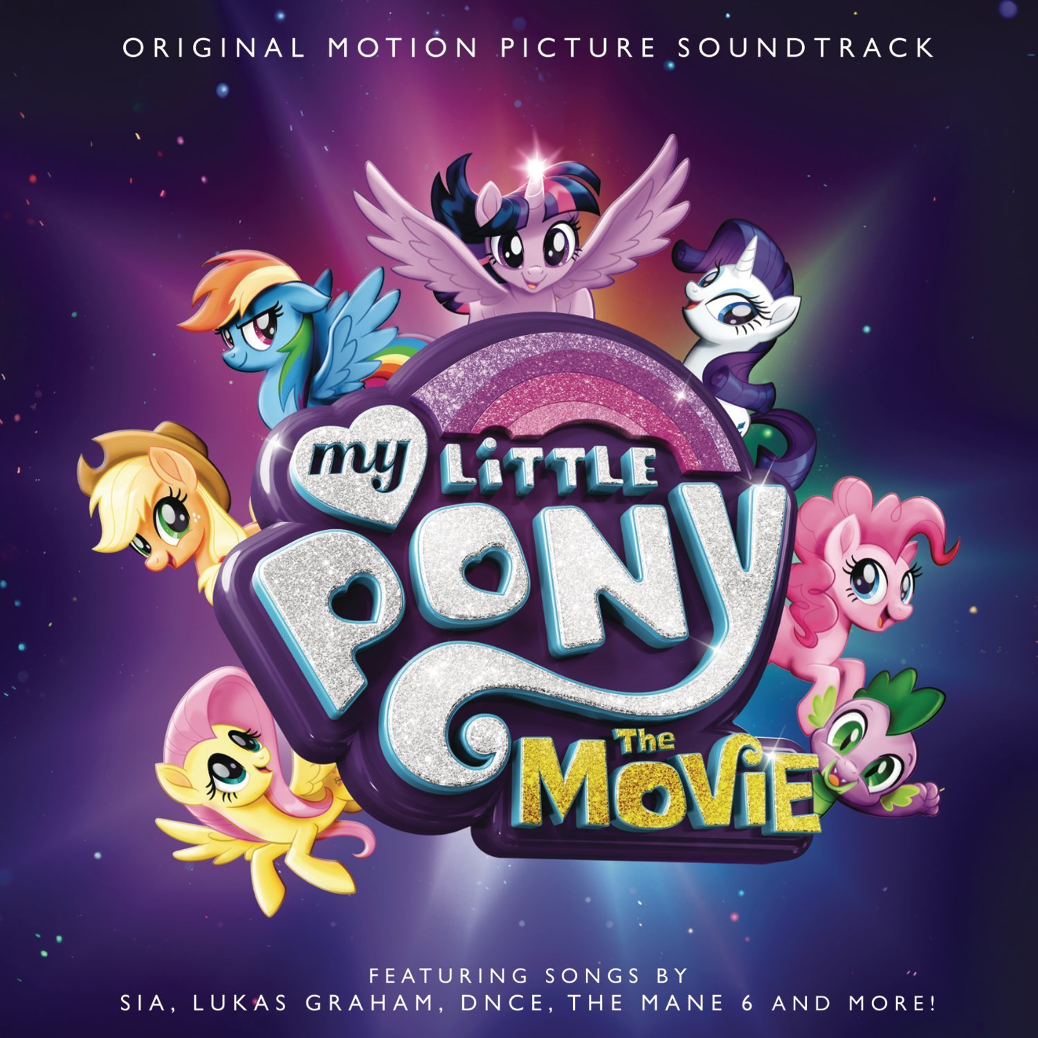 Equestria daily mlp stuff august 2017 looks like the motion picture soundtrack now has a cover showing off the artists we can expect to see in the movie sia and lukas graham look familiar to me hexwebz Image collections
