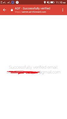 Cara Verifikasi Email di Aplikasi AD-T FORWARD