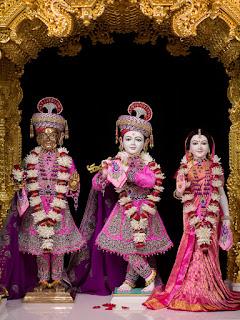 Shree Radha Krishna Dev, Shree Harikrishna Maharaj