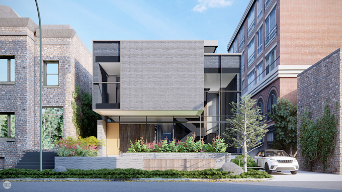 Wolcott House, Chicago, IL - Exterior Renders