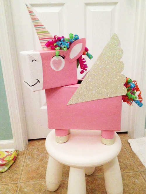 Diy Home Sweet Home Diy Unicorn Valentine Boxes