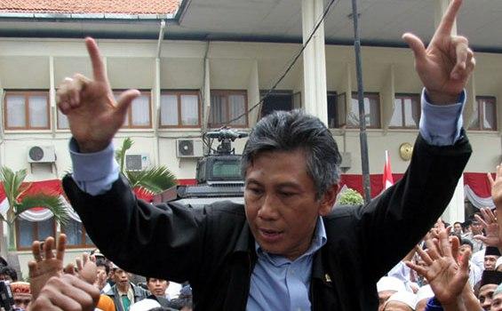 Gus Choi NasDem: Ma'ruf Amin jangan berisik, dia bukan Cawapres dari NU saja