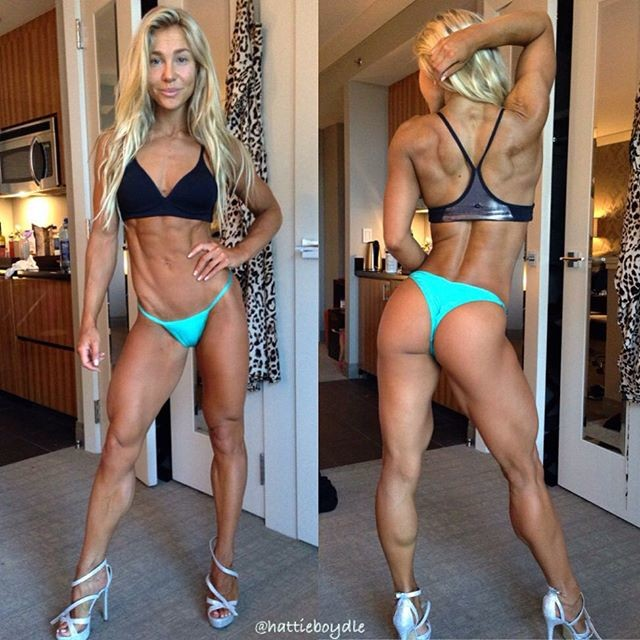 Fitness Model Hattie Boydle Instagram photos