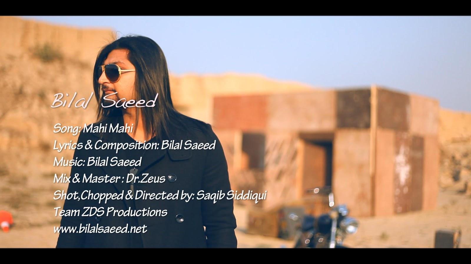 bilal saeed mahi mahi song download