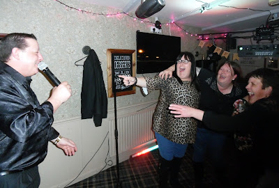 Comedy vocalist Craig Williams from TV  series Benidorm performing in Brigg on May 4, 2019